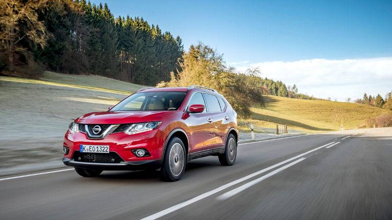 nissan x trail - interno